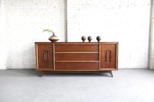 Mid century modern credenza by Unagusta furniture mcm