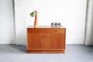 Mid century modern danish sideboard by Brouer