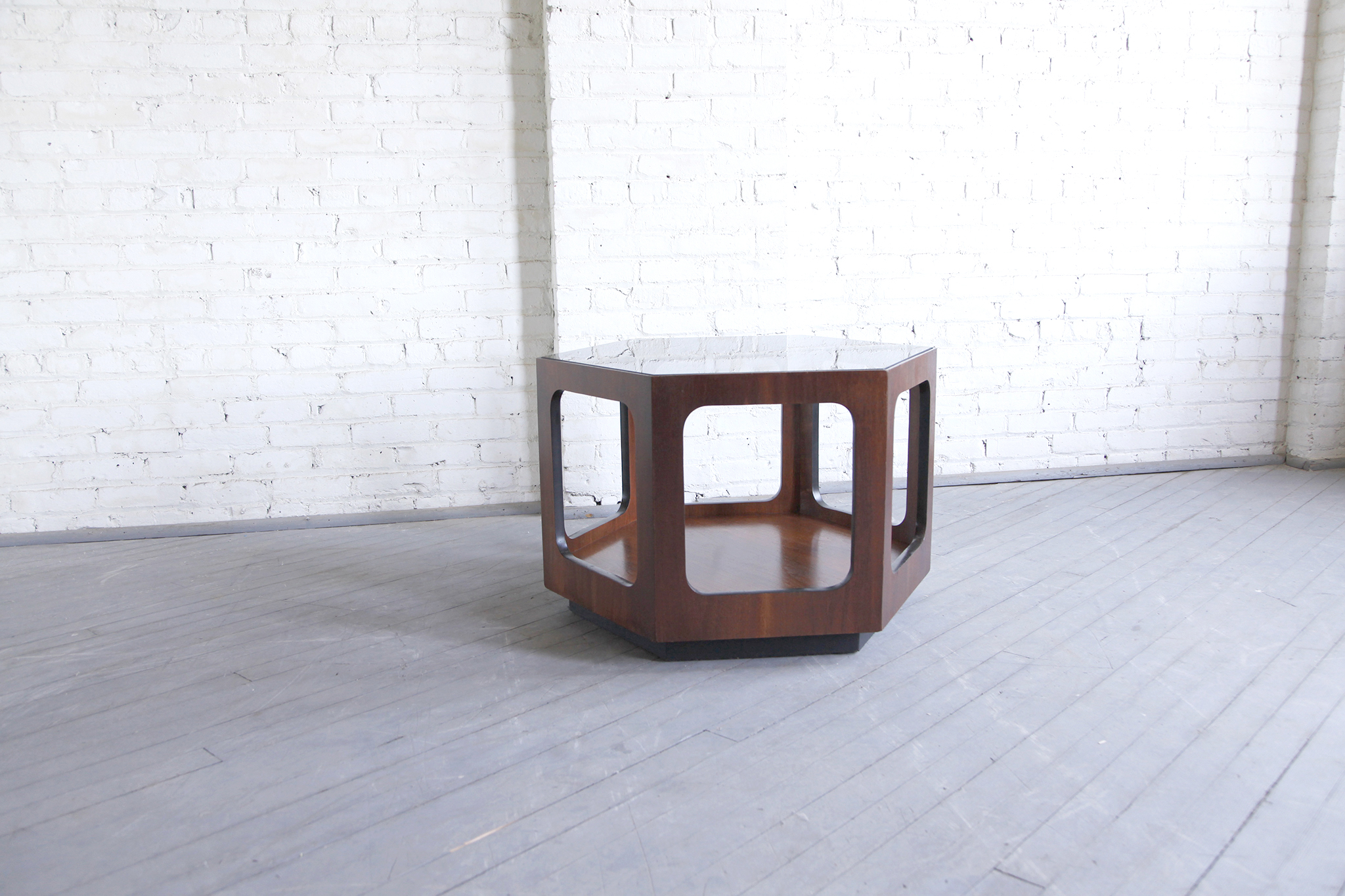 SOLD Mid century modern hexagon coffee table by Lane – MCMBKNY