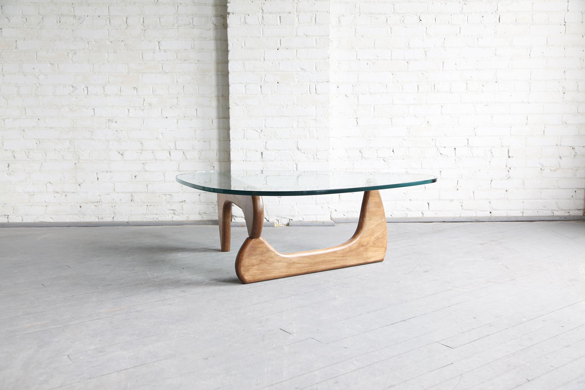 Midcentury modern Isamu Noguchi style coffee table – MCMBKNY