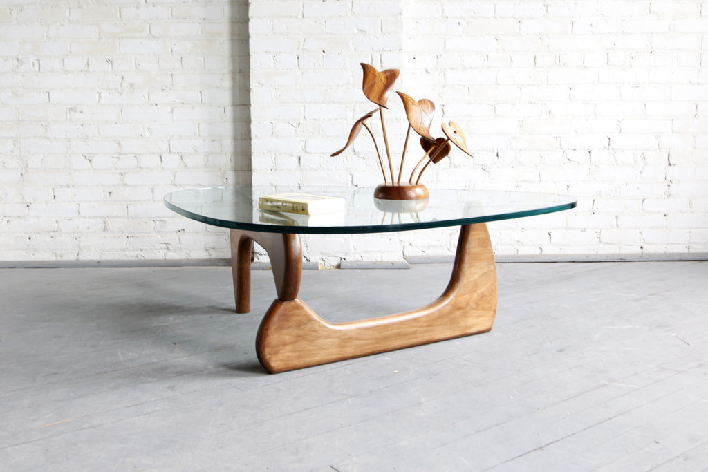 Midcentury modern Isamu Noguchi style coffee table