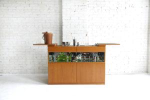 Mid century modern bar/ sideboard/ serving station