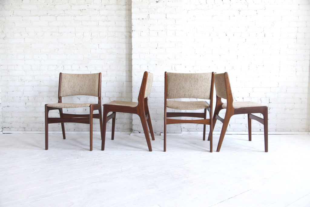 mid century modern chairs made in Denmark