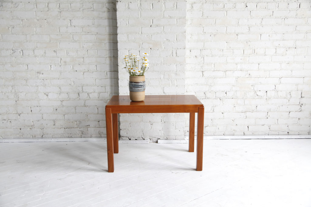 Vintage small coffee/ side table made in Denmark