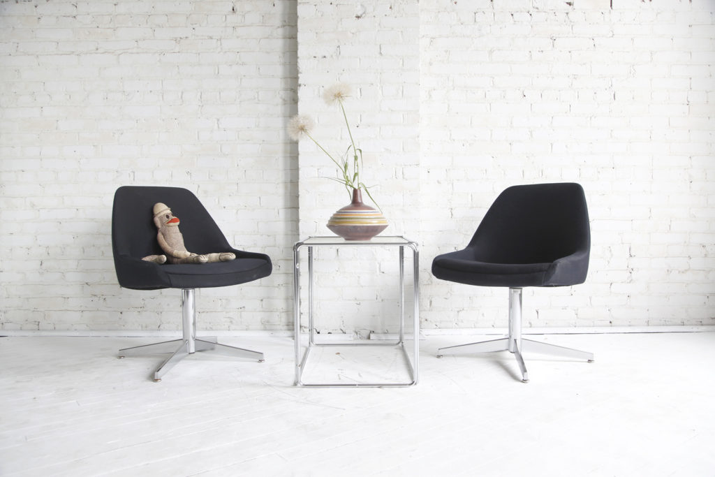 Mid century modern (450series) chairs by Steelcase
