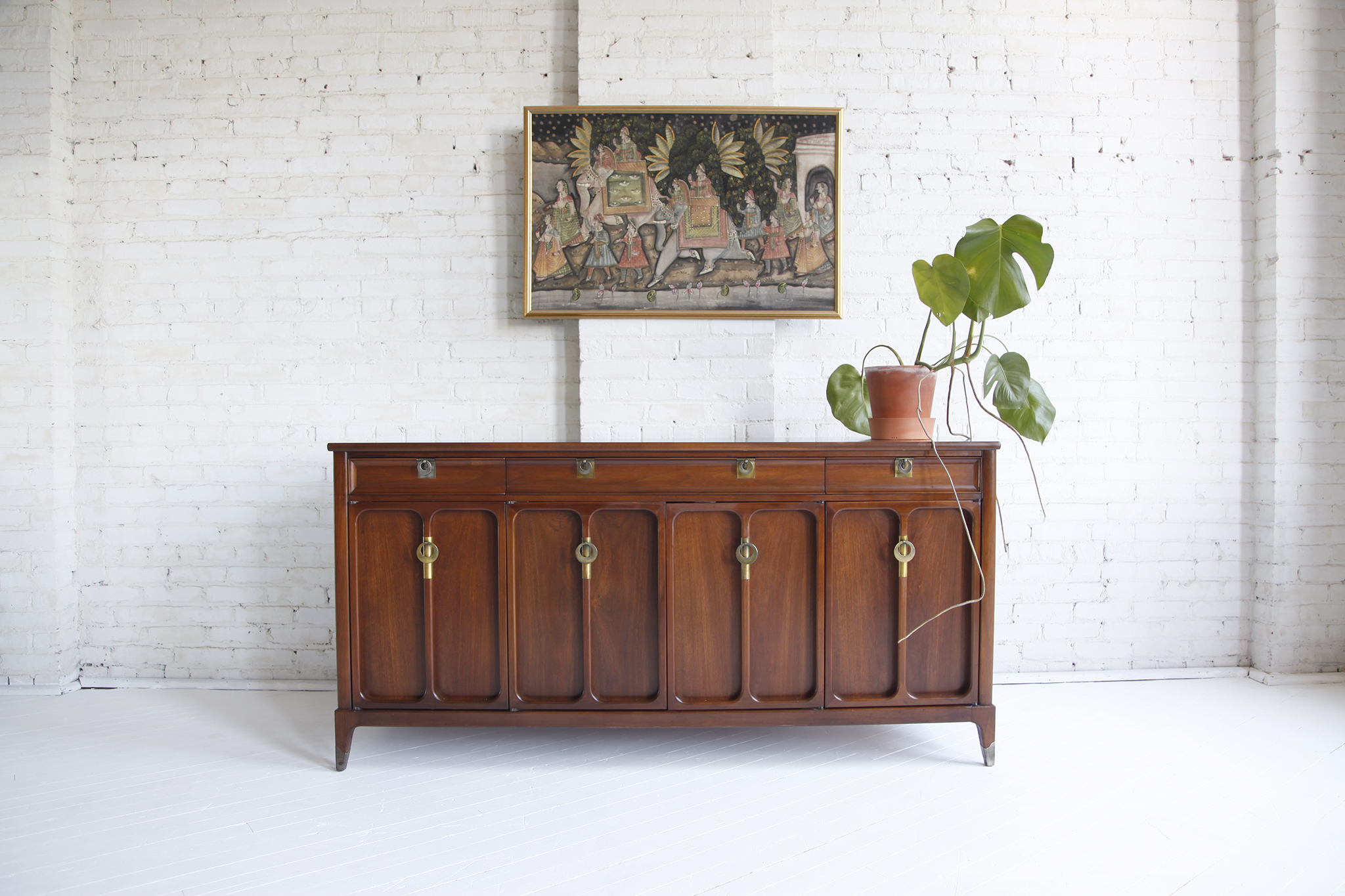 Mid century modern credenza by White furniture co.
