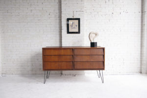 Mid century modern 6 drawer dresser mvmbkny
