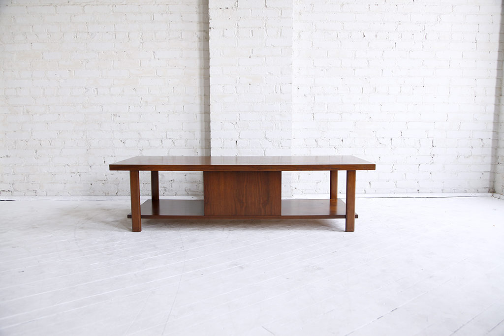 Coffee Table W Sliding Door By Lane Omasa Projects