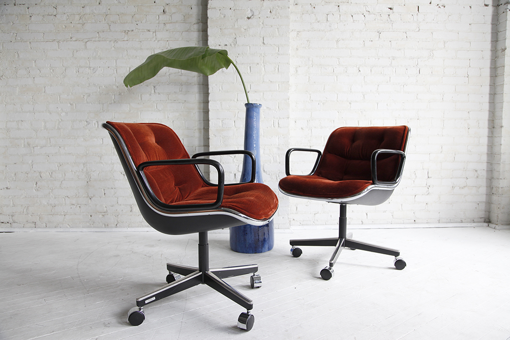 Charles Pollock Office Chair by Knoll