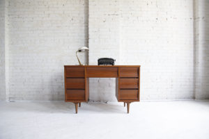 Mid century modern desk by Johnson Carper