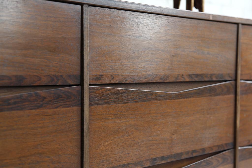 Mid Century Modern Dresser Bassett Furniture 003