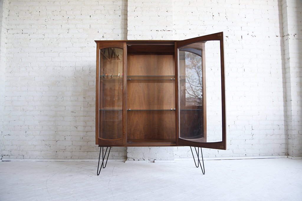 Sideboard China Cabinet On Hairpin Legs Omasa Projects