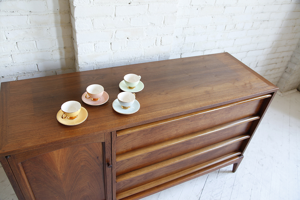 SOLD small credenza/sideboard by Lane – omasa projects on consoles and credenzas, made in usa modern credenzas, country style credenzas, modern sideboards with sliding door, modern sideboards and hutches, industrial modern credenzas, post modern credenzas,
