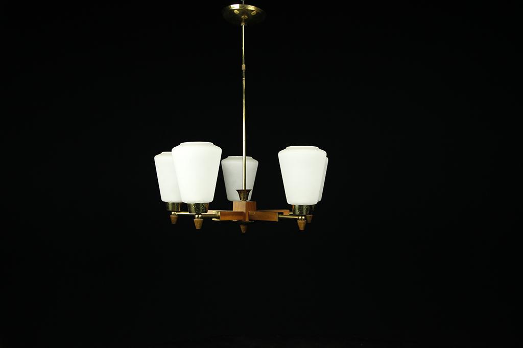 Mid century modern chandelier