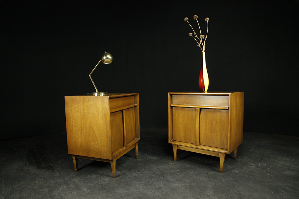 Mcm Mid Century Modern Nightstands End Tables Red Lion Brooklyn Ny Nyc