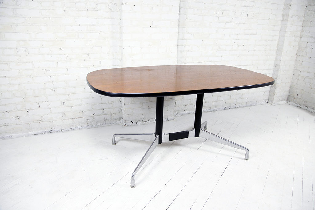 Herman Miller Conference Table Dining Table Omasa Projects - Mid century modern conference table