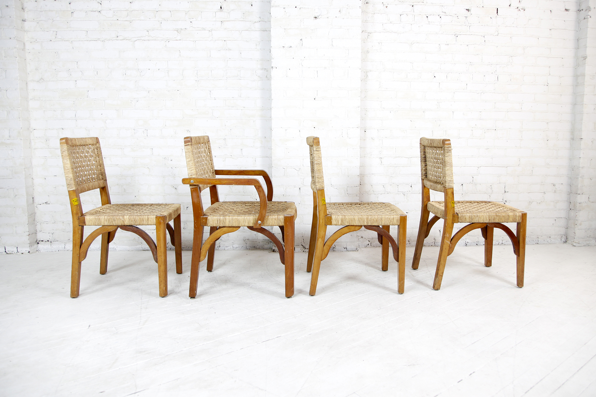 Miraculous Set Of 4 Wegner Style Mexican Dining Chairs By Muebles Frankydiablos Diy Chair Ideas Frankydiabloscom
