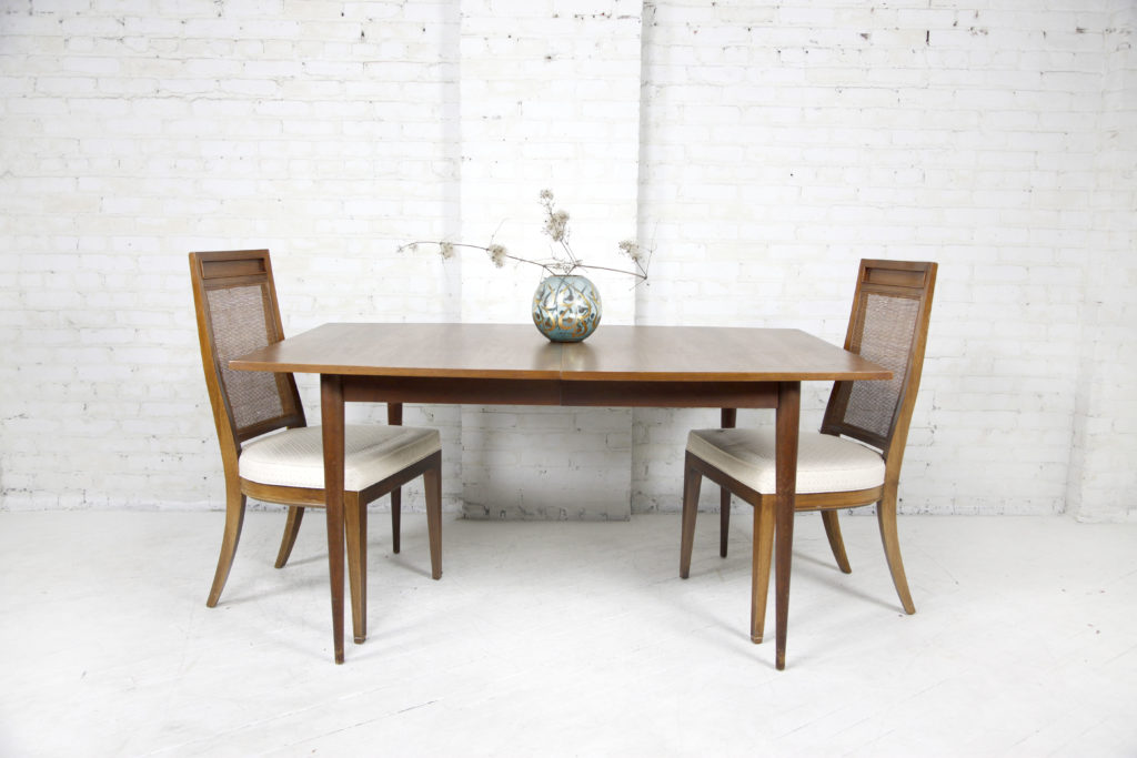 cb2b627ecc8b Vintage mcm mid century modern dining   kitchen table with extension leaf