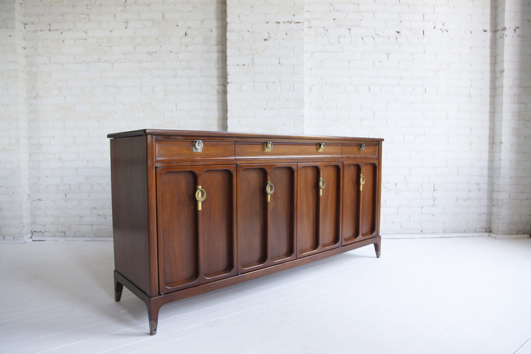 Mid Century Modern Credenza By White Furniture Co